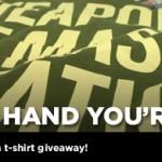 Defy The Hand You're Dealt: WMC T-Shirt Giveaway