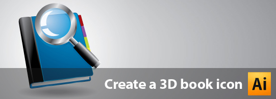 Create A 3D Vector Book Icon