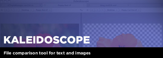 Kaleidoscope: Text & Image Comparison Utility