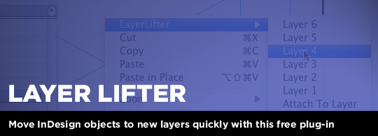 Layer Lifter for InDesign