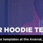 Arsenal: Pullover Hoodie Templates!