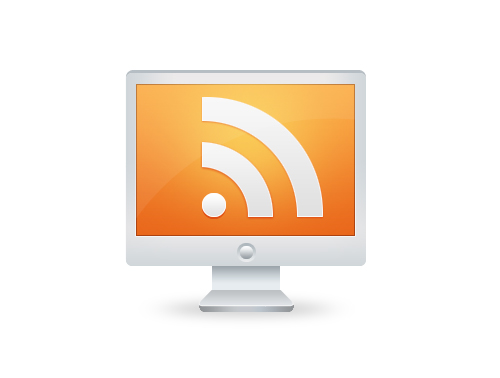 Create a Glossy RSS Feed Icon using Photoshop - Go Media
