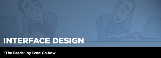 The Brads: Interface Design