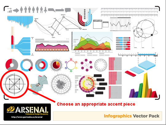 open up the infographix vector pack