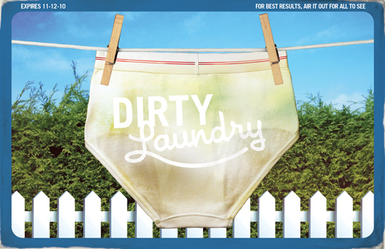 2010.11.12 – Go Media's Dirty Laundry