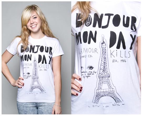 Glamour Kills - Bonjour Monday