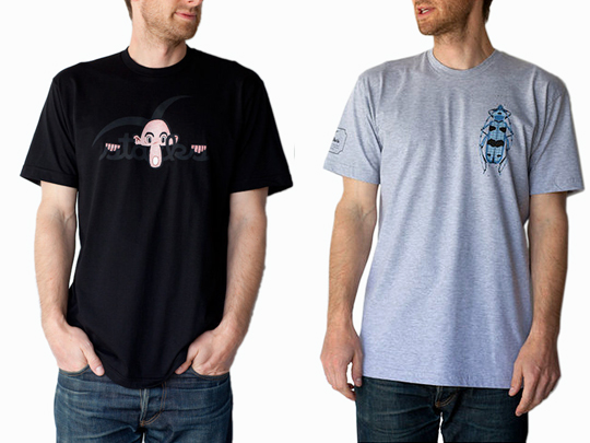 Michael Leon - Commonwealth Stacks - CWS shirt and Beetle shirt