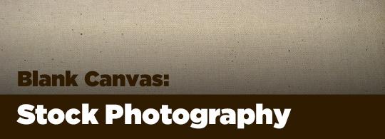 Blank Canvas: Stock Photography