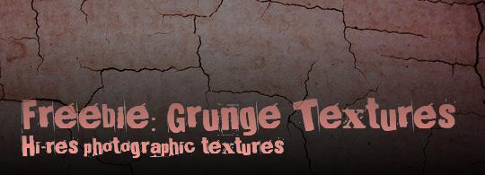 Freebie: Hi-Res Grunge Textures