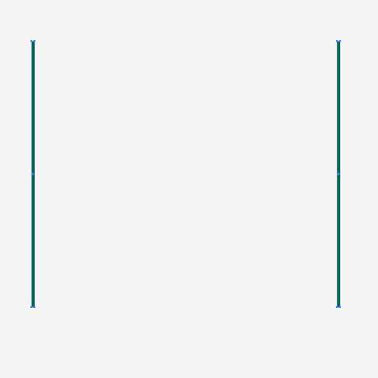 how to make objects in same line spacing