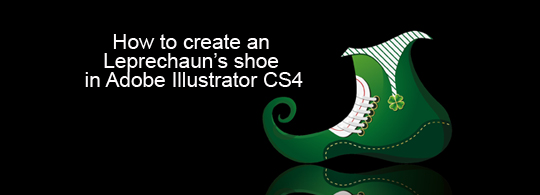How to create a Leprechaun's shoe in Adobe Illustrator CS4