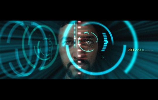 Abduzeedo - Iron Man interface