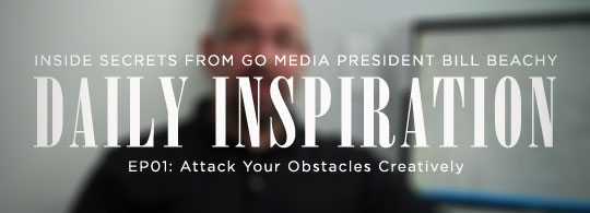 Daily Inspiration: Attack Your Obstacles Creatively