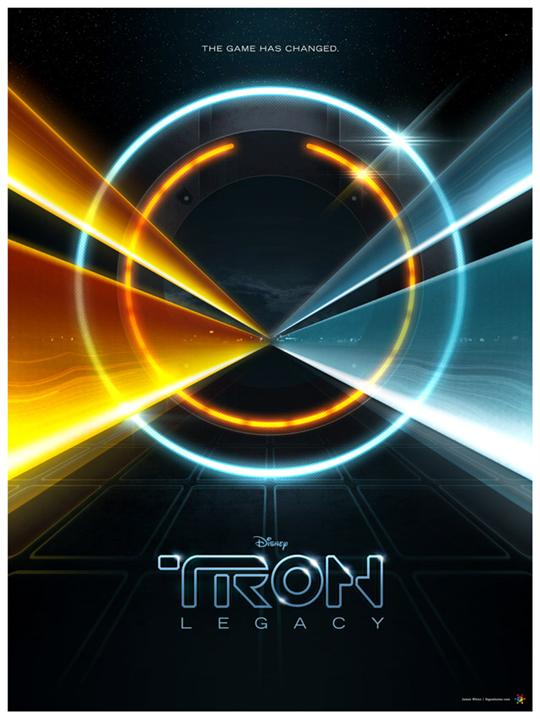 Tron poster by James White