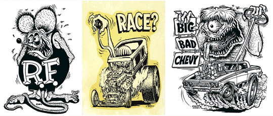 Hot Rod Monster Design Process Go Media Creativity At Work