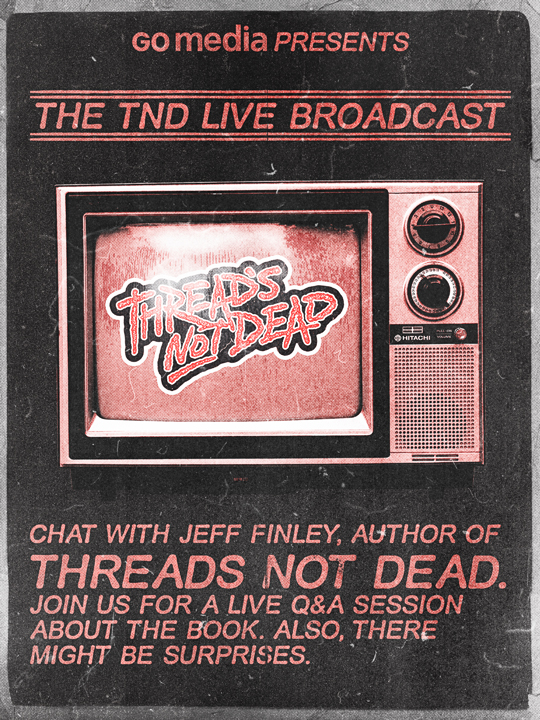 SAoS - TND live announcement - GoMediaZine
