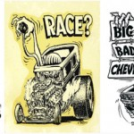 Hot Rod Monster Design Process