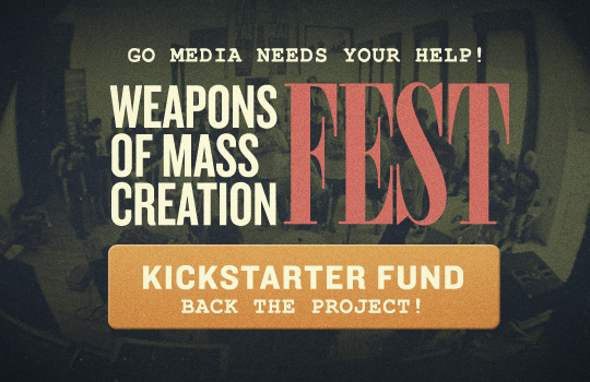 Help us Raise Funds for WMC Fest through Kickstarter