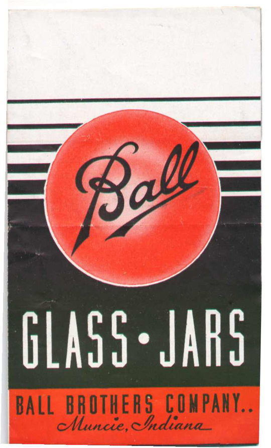 Ball - Glass jars - Vintage ad