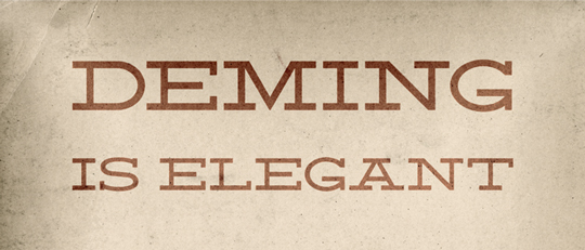Deming EP font