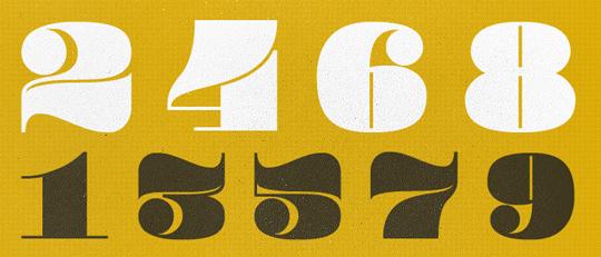 Pompadour font