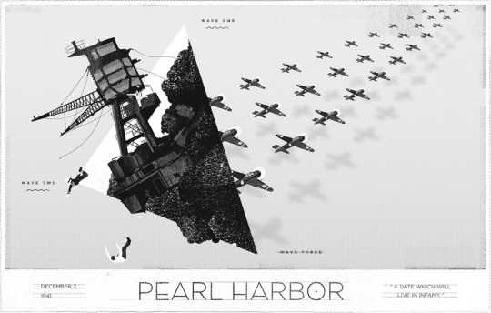 Momentus Project - The attack on Pearl Harbor by John Soat