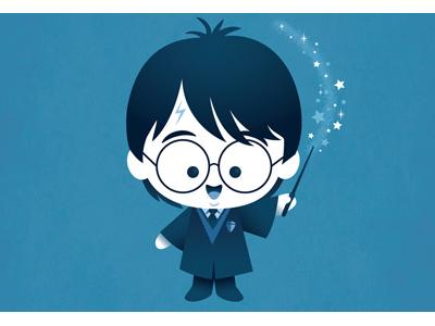 Kawaii Harry Potter by Jerrod Maruyama