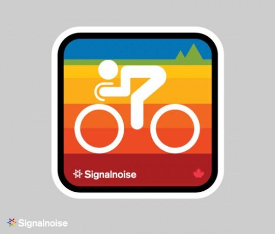Signalnoise sticker concept