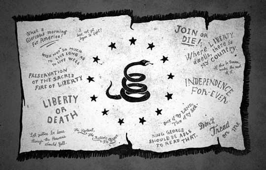 The Momentus Project - The Revolutionary War by Jon Contino