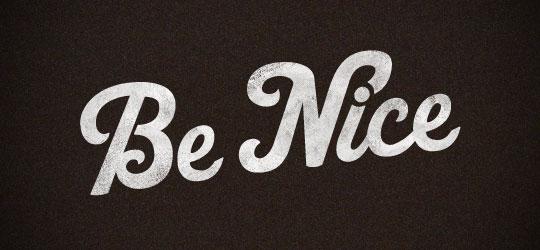 Richie Stewart - Be nice