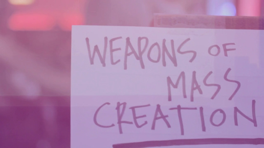 Weapons of Mass Creation Fest 2011 - Short film