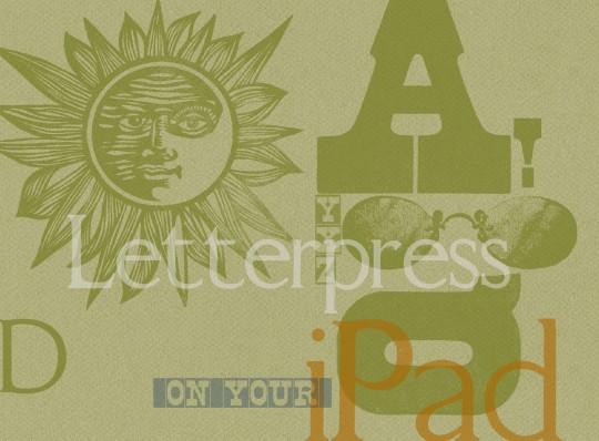 LetterMPress sample print