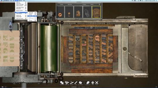 LetterMPress screenshot - Compose screen - Mac OSX