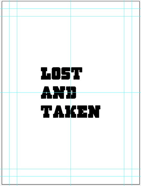 SAoS – Lost and Taken poster tutorial – Massive Dynamite Typelock execution – Step 03
