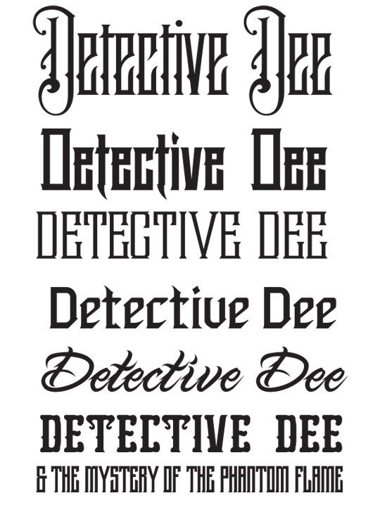 Detective-Dee-Fonts