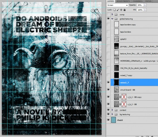 SAoS - Do androids dream of electric sheep? - Global texturing 06