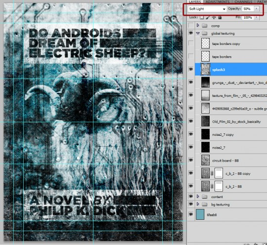 SAoS -  Do androids dream of electric sheep? - Global texturing 12