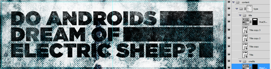 SAoS - Do androids dream of electric sheep - Type elements details 05.01