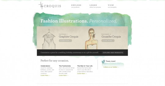 The Croquis website