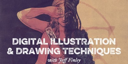 Digital Illustration in Photoshop by Jeff Finley
