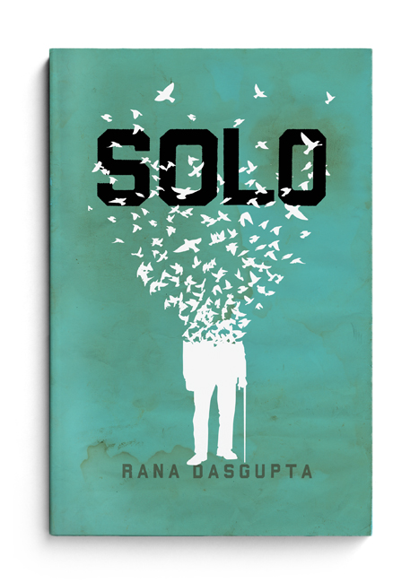 'Solo' book cover design by The Heads of State
