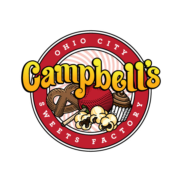 Campbell's Ohio City Sweets Factory Logo Design
