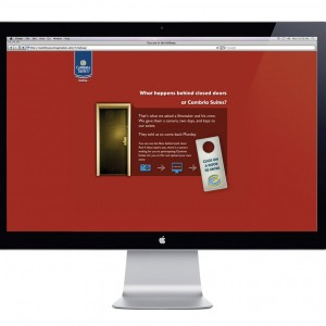 Cambria Suites Website Design - Homepage