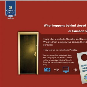 Cambria Suites Website Design - Homepage