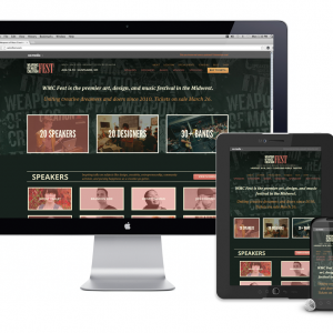 WMC Fest Responsive Website Design
