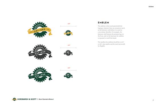 Horsburgh & Scott Logo Design