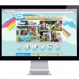 Build A Dream Playhouse Website Design