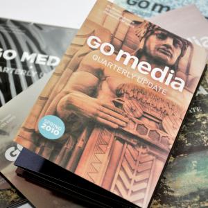 Go Media Print Design Mailers - close-up