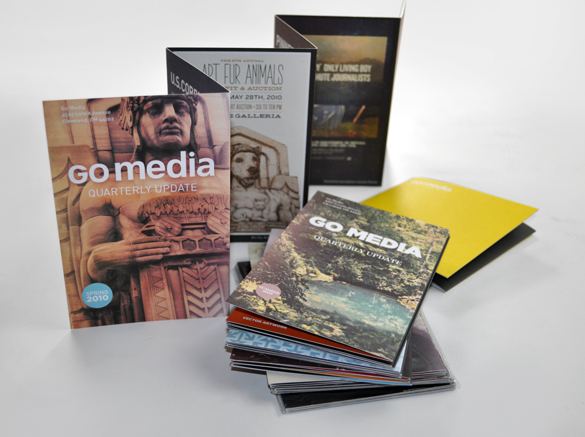 Go Media Mailers Brochure Design