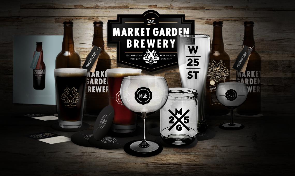 Market Garden Brewery Branding